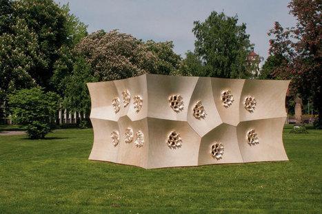 hygroskin: a climate-responsive kinetic sculpture - Designboom | Art | Scoop.it