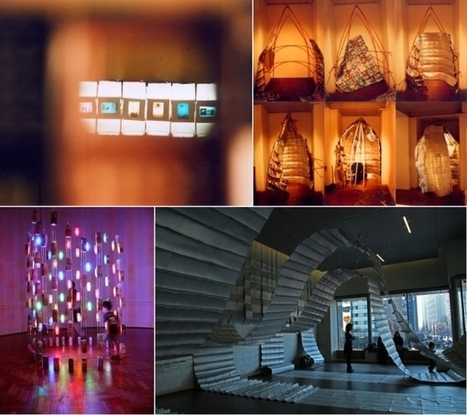 Arte con materiales reciclados en Galería Abierta Costanera ... | Iniciativas Verdes | Scoop.it