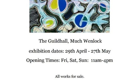 My #Exhibition of #Paintings: '#Barcelona Series': The Guildhall, #Much Wenlock, Shropshire. Please see poster for details. @LubyArt #art | Luby Art | Scoop.it