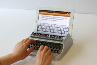 Video: Combining a classic typewriter feel with an iPad, the iTypewriter   iFilmmaking   Scoop.it