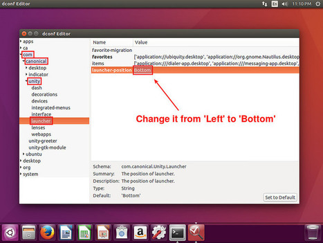 How to move Unity launcher to the bottom of screen on Ubuntu - Xmodulo | Linux FAQ | Scoop.it