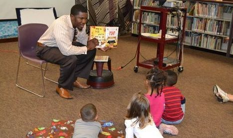 Elementary administrators read at library - Focusdailynews | why not try in the library? | Scoop.it