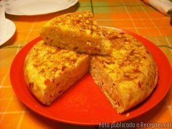 Truita de patates amb pebrots del piquillo i tonyina (Recepta per ... | Receptes | Scoop.it