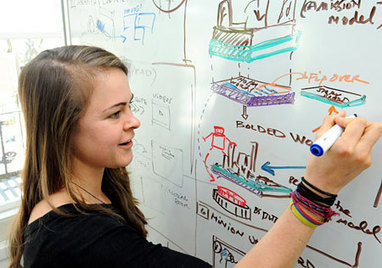 POI: Abby VanMuijen, drawing her way to a better education | Wired to think in pictures... | Scoop.it