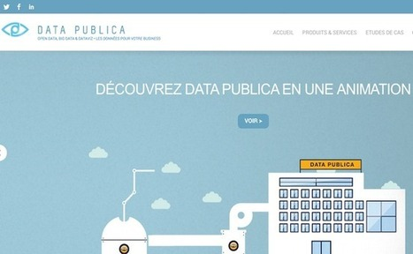 La startup du jour : Data Publica utilise le Big Data pour faire de la vente prédictive | Innovation & Technology | Scoop.it