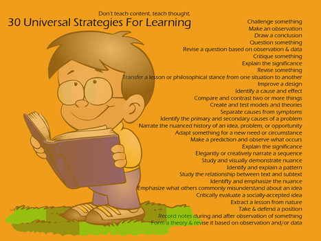 30 Universal Strategies for Learning | Recursos en internet | Scoop.it