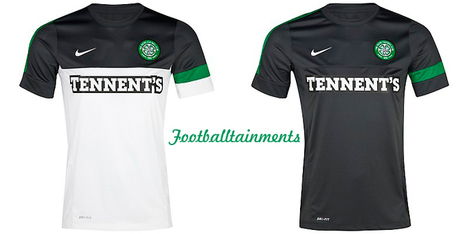 Celtic White With Black Jersey | CELTIC TEAM JERSEY | Scoop.it