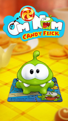 Om Nom Candy Flick an Innovative iPhone and iPad Game App | Best iPhone Apps and iPad Apps | Scoop.it