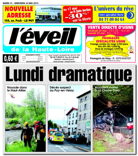 La Montagne s'apprête à acquérir L'Eveil de la Haute-Loire | DocPresseESJ | Scoop.it