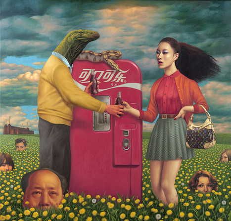 The Art of Alex Gross | Being Global: Art and Artists | Scoop.it
