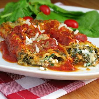 #HEALTHYRECIPE - Easy Meatless Manicotti | food | Scoop.it