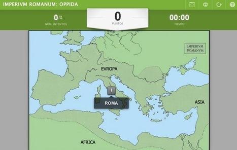 EURICLEA: LATÍN I: IMPERIVM ROMANVM... MAPAS INTERACTIVOS | EURICLEA | Scoop.it
