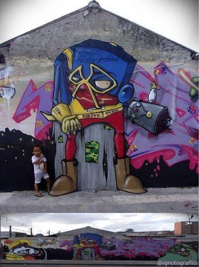 Street Art by #Ignoto located in São Paulo #Brazil | Art | Scoop.it