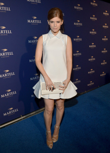 Fabulously Spotted: Kate Mara Wearing Viktor & Rolf – Martell Caractere Launch Event - Because I Am Fabulous | Martell Caractere Launch Event in L.A. | Scoop.it