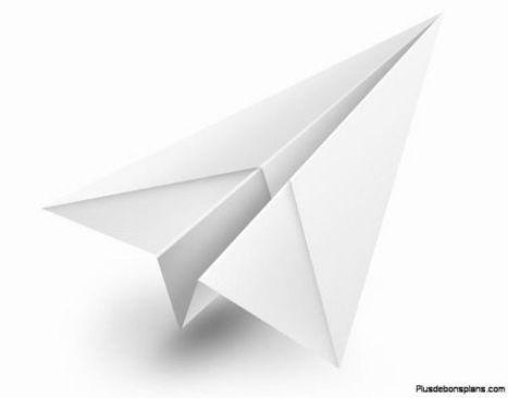 Comment faire un avion en papier : mode d'emploi ! - Plus de bons plans   voyages vacances  loisirs  jeux  videos  argent  tv  bien  etre   Scoop.it