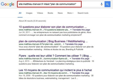 SEO : 4 étapes pour booster facilement vos articles mal positionnés dans Google | Blog Business / WebMarketing / Management | Pratiques Web | Scoop.it