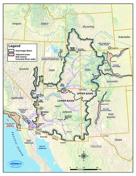 Mapping the River Ahead | Decision Center for a Desert City | Colorado River Basin | Scoop.it