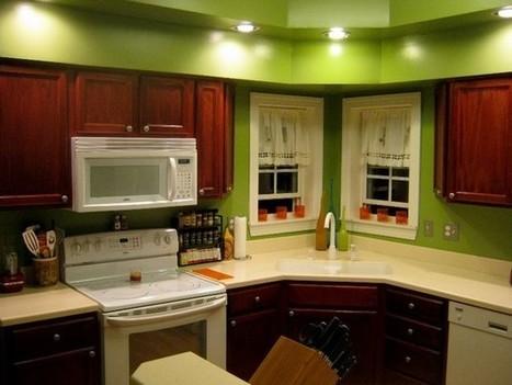 Kitchen Paint Colors with Oak Cabinets | Ideas, Best Colors | Home Designs an Decorating Ideas | Scoop.it