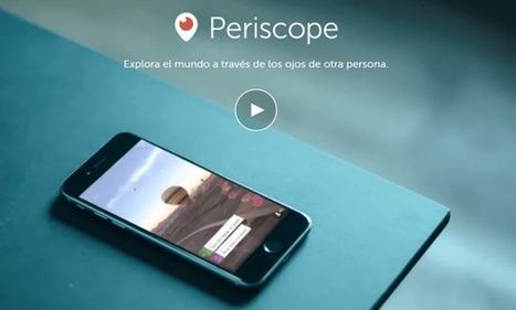 Explorar el món a través dels ulls d'una altra persona. Periscope TV | Recursos i eines TIC per a l'educació | Scoop.it