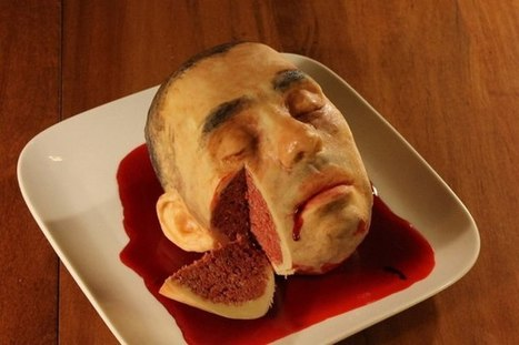 Incredibly Realistic Looking Human Head Cake Is Too Creepy To Look At | WTF Posts | Scoop.it