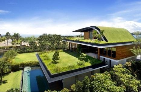 Arquitectura Sustentable: 9 beneficios de los tejados verdes - VeoVerde | Educación Ambiental | Scoop.it