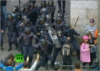 Summary of 25 September protest in Madrid, Police brutality – Videos, photos & Articles [ES] [EN] | rEvolution Magazine | Scoop.it