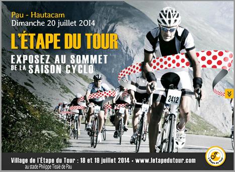 L'Etape du Tour 2014 Pau-Hautacam   vue sur les Pyrenees   Scoop.it
