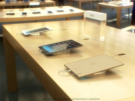 Concept : l'iPad 5 se montre dans l'Apple Store | Veille technologique | Scoop.it