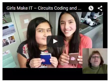 Girls #Make IT – #Circuits #Coding and #eTextiles -K12 Online Conference #makered | technology | Scoop.it