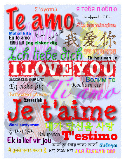 How to Say I Love You in Different Languages Printables I Love You Cards and Posters   Celebrity News Photos and Videos   Scoop.it
