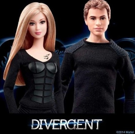 Tris and Four have been turned into official 'Divergent' Barbie Dolls | All things YA - Books, Publishing, Writing, Blogging, Reviews | Scoop.it