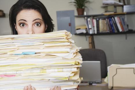 La dématérialisation des documents source de productivité   Dématérialisation et archivage   Scoop.it