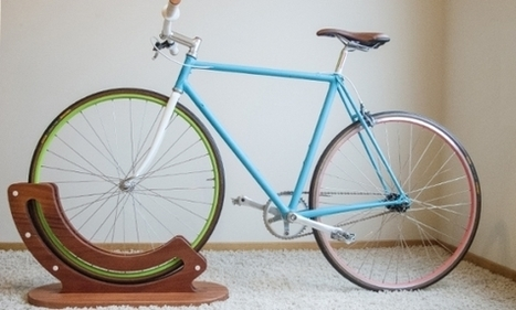 The Jeff Skierka Bike Rack Is the Solution for Urban Bikers and Apartment Dwellers | Film, Art, Design, Transmedia, Culture and Education | Scoop.it