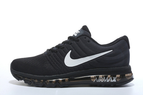 Mens Nike Air Max 2017 Running Shoes all black [nikeairmax2017_005] - $89.99 : USA sales Nike shoes online 80% Off from China factory, www.saleshoesonline.us | Nike Shoes | Scoop.it