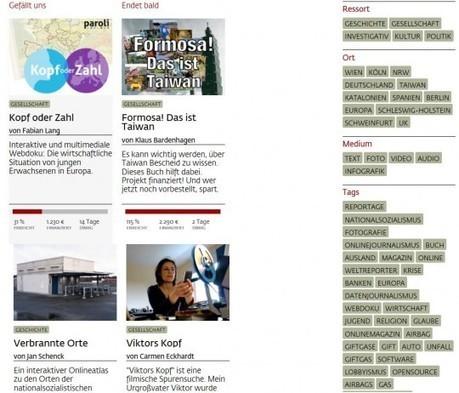 """""""Krautreporter"""": Crowdfunding für Journalismus   Echtzeit   Co-Creation and Crowdsourcing   Scoop.it"""