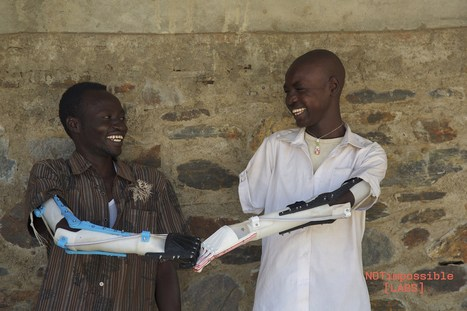Sudanese volunteers are printing £60 limbs in six hours for local amputees | Technoculture | Scoop.it