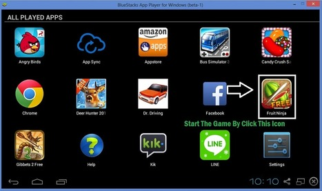 Android Game : Fruit Ninja For PC   TechiMonk   Blogging Tips   How to   BTNT - bloggingtipsntrickz.com   Scoop.it