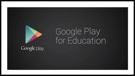 """google arrive sur le marché de l'éducation avec """"google play for education""""   TICE, softwares, e-learning   Scoop.it"""