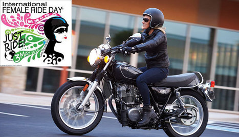 International Female Ride Day May 3, 2014 - RideApart | Motorcycle Riding | Scoop.it