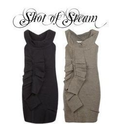 Cosy New All Saints PEEKOA Black Pure Wool Dress UK 10 EU 38 US 6 Orig Cost £110 | Shot Of Steam | Scoop.it