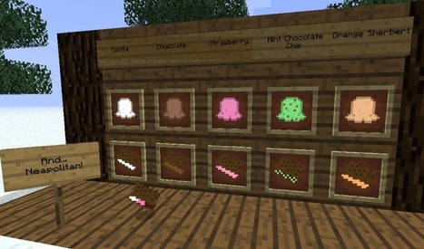 The Ice Cream Sandwich Creeper Mod 1.7.2/1.6.2/1.5.2/1.5.1 | Minecraft 1.7.4/1.7.2 | luca orlando | Scoop.it