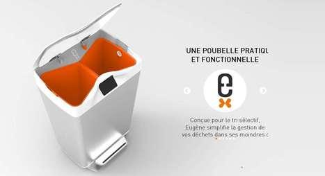 Eugène, la première poubelle connectée intelligente. - | Hightech, domotique, robotique et objets connectés sur le Net | Scoop.it