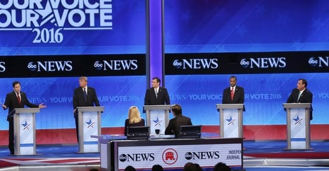 Chris Christie, Marco Rubio get nasty at New Hampshire GOP debate | itsyourbiz | Scoop.it
