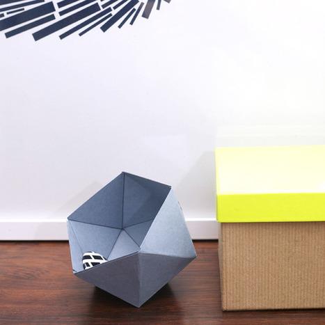 DIY | Des petites boîtes géométriques | DecoCrush blog déco, idées déco | décoration & déco | Scoop.it