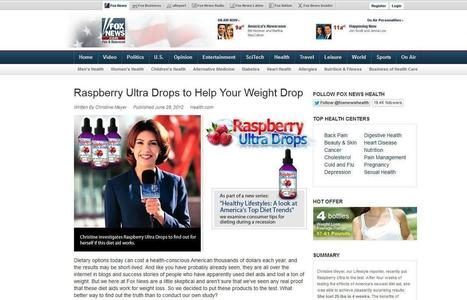 Raspberry Ultra Drops Review - GET FREE TRIAL SUPPLIES LIMITED!!! | The Best Product For Losing Weight | Scoop.it