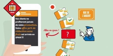 Infographie : les mots qui envoient vos emails en spam !   Geeks   Scoop.it