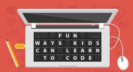 Múltiples razones, juegos y apps con las que los niños pueden aprender a programar [Infografía] | Creatividad en la Escuela | Scoop.it
