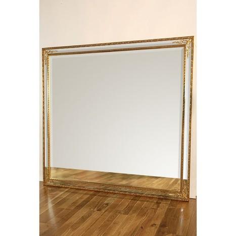 Gold Inlay Floor Standing Mirror | Interiors | Scoop.it
