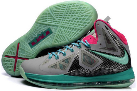 Air Max King James 10 New Athletic Sneakers with Features Blue/Black and Grey | popular list | Scoop.it