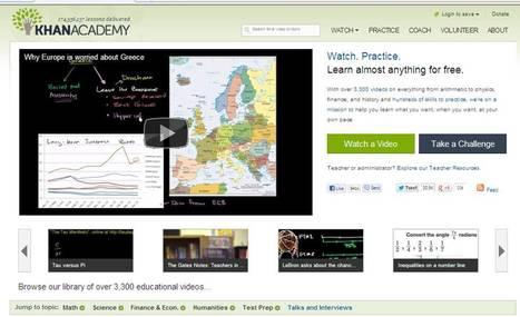 Khan Academy   30 Sites in 60 Minutes   Scoop.it
